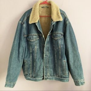 Levi's Sherpa Denim Jacket
